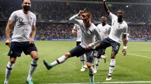 Griezmann Fortnite Rami Pogba Dembélé équipe de France
